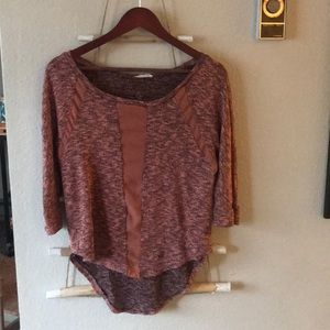 Lush 3/4 sleeve sweater